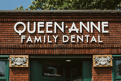 Outside of Queen Anne Family Dental in Seattle, WA